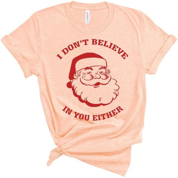 North Pole Mens Sleep Shirt Top Gray Unisex Santa Christmas Size 2XL NWT